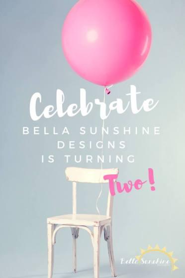 Bella Sunshine Designs is Two!